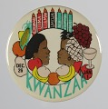View Pinback button for Kwanzaa digital asset number 0