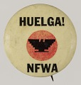 View Pinback buttons for the National Farm Workers Association digital asset number 0