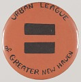 View Pinback button for the Urban League of Greater New Haven digital asset number 0