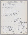 """View Handwritten lyrics to """"You Need Love"""" by Willie Dixon, signed by Ron Wood digital asset number 0"""