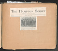 View Scrapbook compiled by W.D. Williams while attending Hampton Institute digital asset number 4