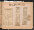 View Scrapbook compiled by W.D. Williams while attending Hampton Institute digital asset number 20