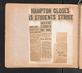 View Scrapbook compiled by W.D. Williams while attending Hampton Institute digital asset number 31