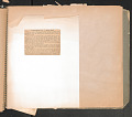 View Scrapbook compiled by W.D. Williams while attending Hampton Institute digital asset number 73