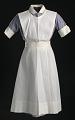View Nurse's uniform apron worn by Pauline Brown Payne digital asset number 0