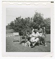 View Digital image of Taylor family members outside their home on Martha's Vineyard digital asset number 0