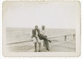 View Digital image of a Taylor family man and woman on a pier at Martha's Vineyard digital asset number 0
