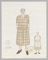 View Costume design drawing by Judy Dearing for Annie in Porgy and Bess digital asset number 0