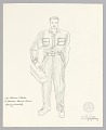 View Costume drawing by Judy Dearing for Stanley Kowalski in A Streetcar Named Desire digital asset number 0