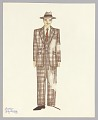 View Costume drawing by Judy Dearing for Satchmo: America's Musical Legend digital asset number 0