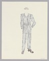 View Costume drawing by Judy Dearing for the Moving Men in A Raisin in the Sun digital asset number 1