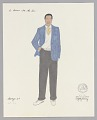 View Costume drawing by Judy Dearing for George Murchison in A Raisin in the Sun digital asset number 0