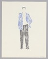 View Costume drawing by Judy Dearing for George Murchison in A Raisin in the Sun digital asset number 1