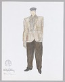 View Costume drawing by Judy Dearing for The Homeless Man in Swinging on a Star digital asset number 0