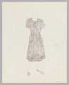 View Costume design drawing by Judy Dearing for Porgy and Bess digital asset number 1