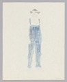 View Costume design drawing by Judy Dearing for Peter in Porgy and Bess digital asset number 1