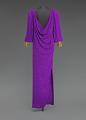 View Purple dress designed by Oscar de la Renta and worn by Whitney Houston digital asset number 2