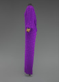 View Purple dress designed by Oscar de la Renta and worn by Whitney Houston digital asset number 4