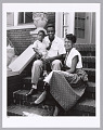 View <I>Jackie Robinson with his wife and son</I> digital asset number 0