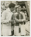 View Photograph of Althea Gibson with Louise Brough digital asset number 0