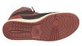 View Pair of red and black Air Jordan I high top sneakers made by Nike digital asset number 1
