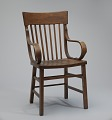 View Bentwood armchair from a church in Tulsa, Oklahoma digital asset number 0