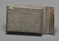 View Tin box handmade and carried by Joseph Trammell to hold freedom papers digital asset number 1