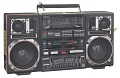 View Boombox carried by Radio Raheem in the film Do the Right Thing digital asset number 0