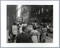 View Photographic print of steelworkers protesting in downtown Pittsburgh digital asset number 0
