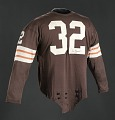 View Jersey for the Cleveland Browns worn and signed by Jim Brown digital asset number 0