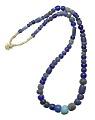 View Cobalt blue European glass trade beads digital asset number 0