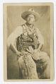 View Photographic postcard portrait of a cowboy digital asset number 0