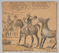 View Comic illustrating an interaction between cowboys digital asset number 0