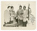 """View Photograph of the Scoby Browne Quartet autographed by """"Duke"""" digital asset number 0"""