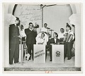 View Photograph of Dizzy Gillespie playing the trumpet in Karachi, Pakistan digital asset number 0