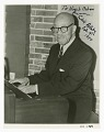 View Autographed photograph of Eubie Blake playing the piano digital asset number 0