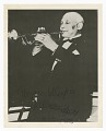 View Photograph of an unidentified man playing a trumpet digital asset number 0