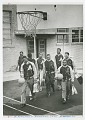 View Photograph of the St. Augustine High School basketball team digital asset number 0