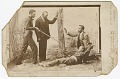 View Photograph of a staged sword duel digital asset number 0