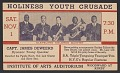 View Advertisement card for the Holiness Youth Crusade in Detroit, Michigan digital asset number 2