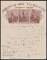 View Letter from and photomechanical print of Rev. John B. Randolph digital asset number 0