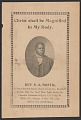 View Advertisement card for Rev. S. A. Bostic digital asset number 0