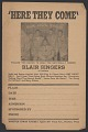 View Advertisement card for the Blair Gospel Singers digital asset number 2