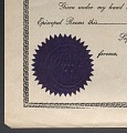 View Blank certificate of pastor's appointment for the A.M.E. Church digital asset number 2