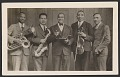 View Photographic postcard of the Cleveland Colored Quintet digital asset number 0