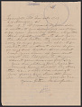 View Letter from Nelson Jordan to Julia Womack with an envelope digital asset number 0