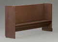 View Church pew from the Twelfth Baptist Church of Boston digital asset number 5