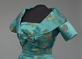 View Teal blue dress and cropped jacket designed by Ann Lowe digital asset number 8