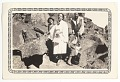 View Photographic print of Eunice Jackson and friends posing in front of large rocks digital asset number 0