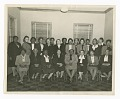 View Photographic print of three rows of women in a room digital asset number 2